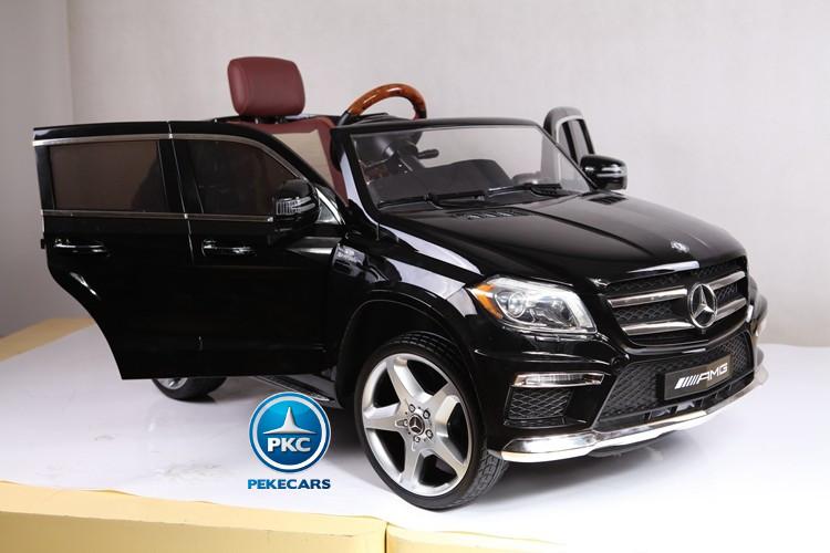 Coche electrico para niños Mercedes GL63 Version Super Luxe Negro vista principal