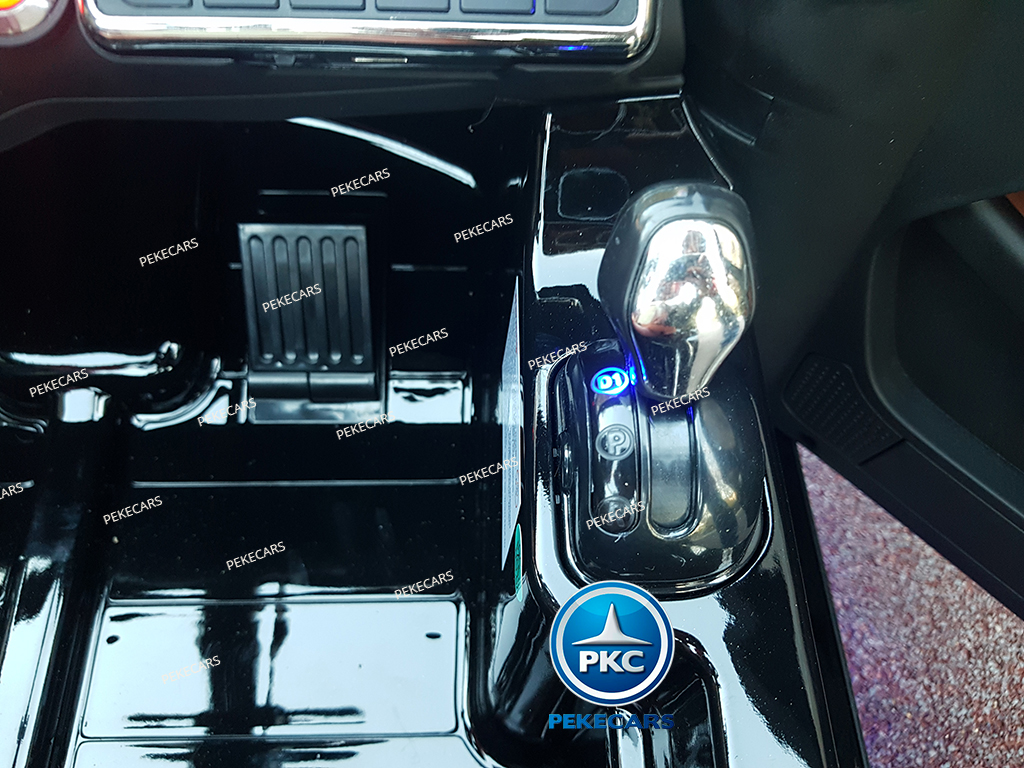 Coche electrico para niños Mercedes GL63 Version Superior Negro palanca de cambio de marcha