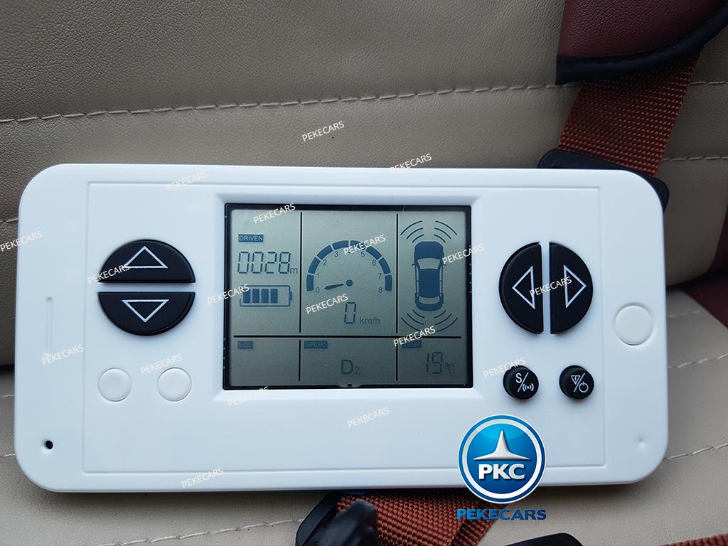 Coche electrico para niños Mercedes GL63 Version Superior Negro mando radiocontrol