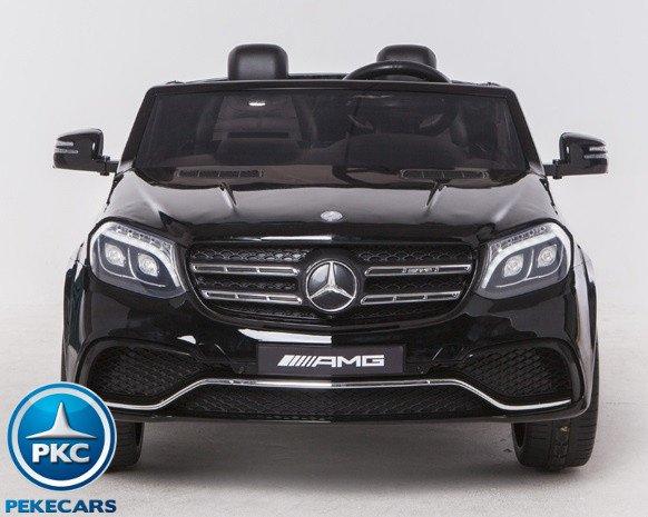Coche electrico infantil Mercedes GLS63 Negro