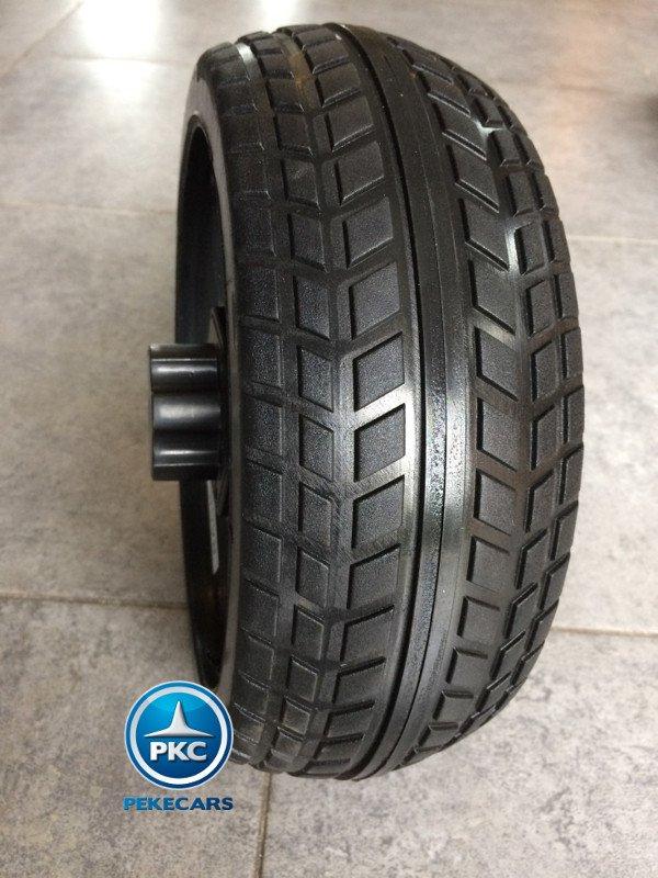 Coche electrico infantil Mercedes GLS63 Negro ruedas de caucho antipinchazos