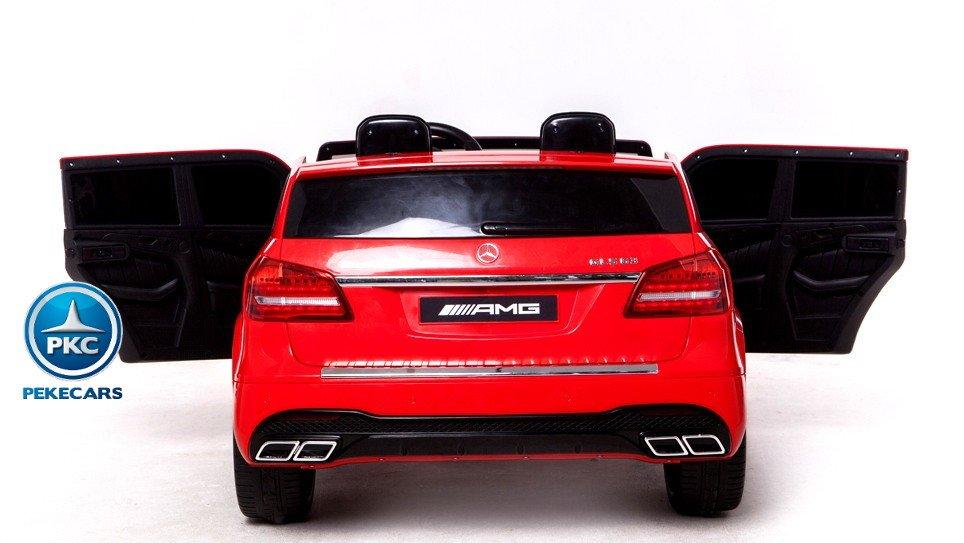 Coche electrico infantil Mercedes GLS63 Rojo