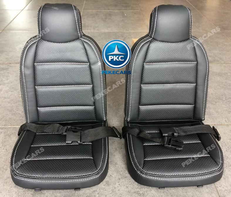 Coche electrico para niños Mercedes GLS63 Rojo Metalizado dos plazas