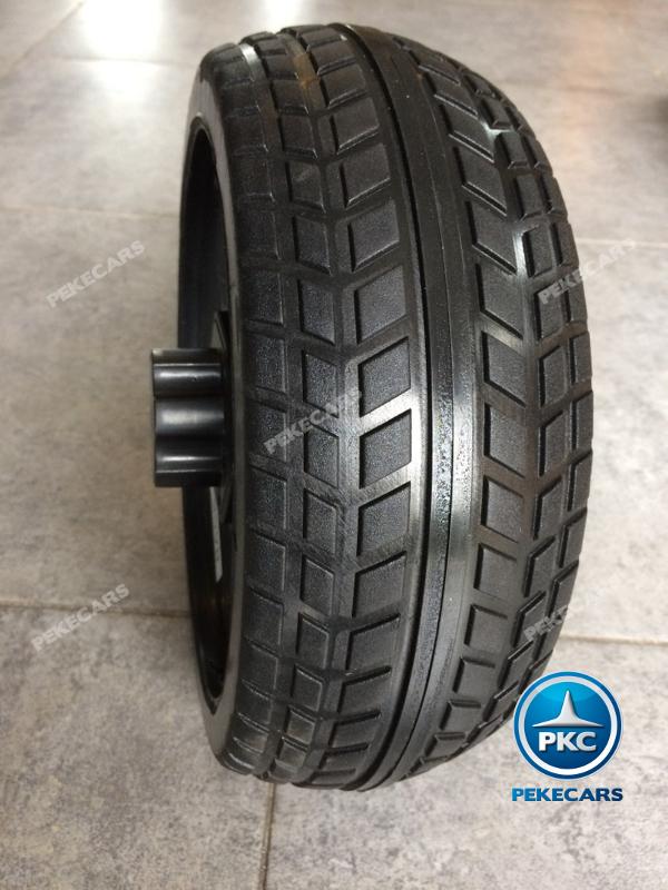 Coche electrico infantil Mercedes GLS63 Rojo Metalizado con ruedas de caucho antipinchazos