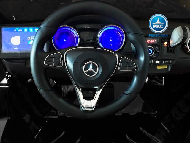 Coche electrico infantil Mercedes Pickup X Class 12V Negro