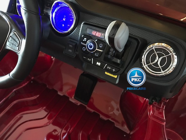 Coche electrico infantil Mercedes Pickup X Class 12V Blanco