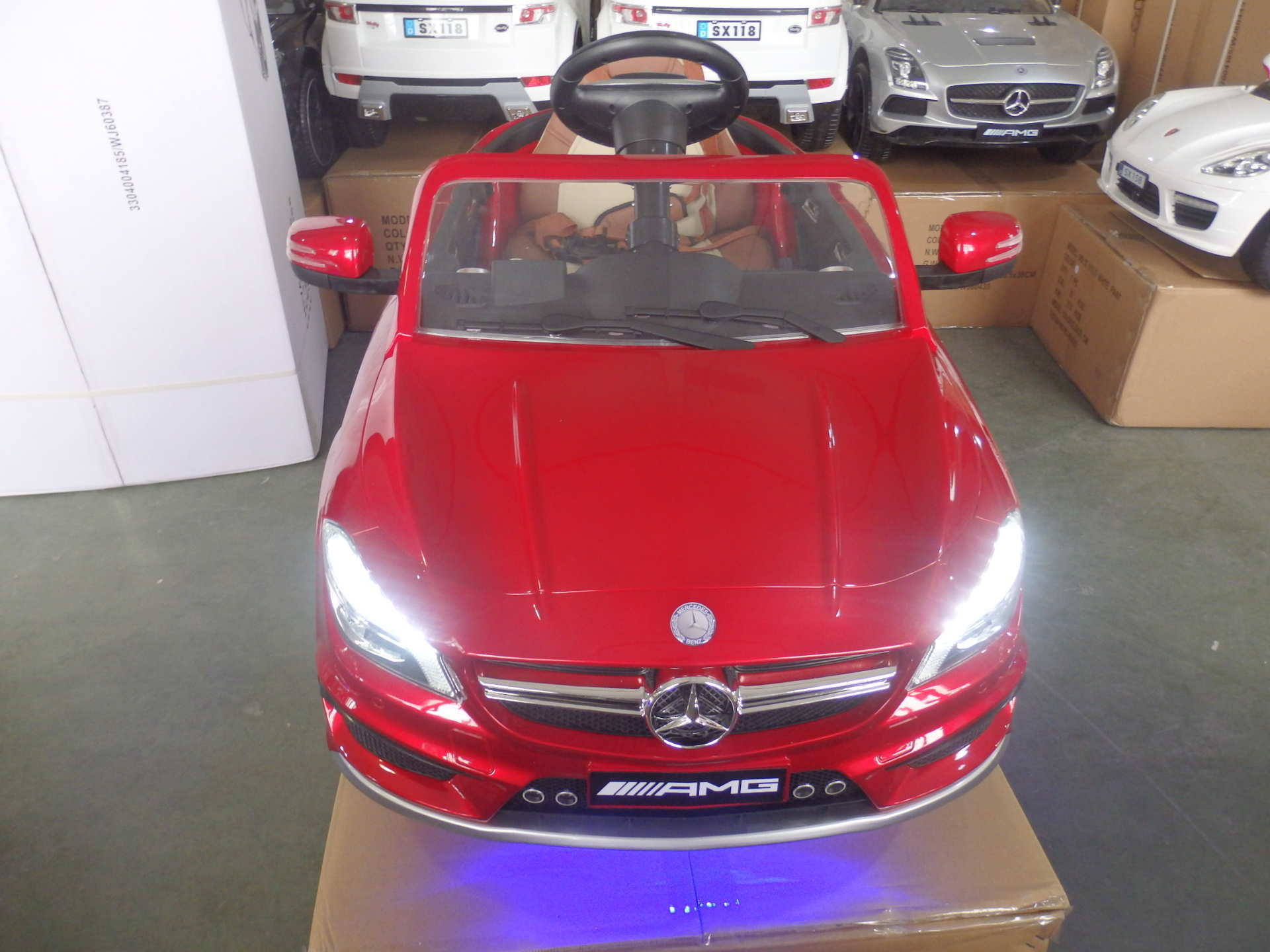 Mercedes Cla45 infantil color blanco PEKECARS
