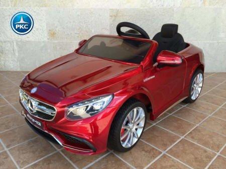 Mercedes s63 infantil rojo pintado Pekecars