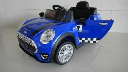 Mini Luxe Style 12V para niños Azul