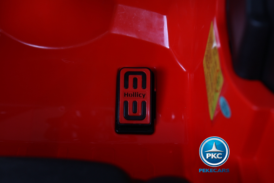 Coche electrico para niños Mini Style Rojo lateral