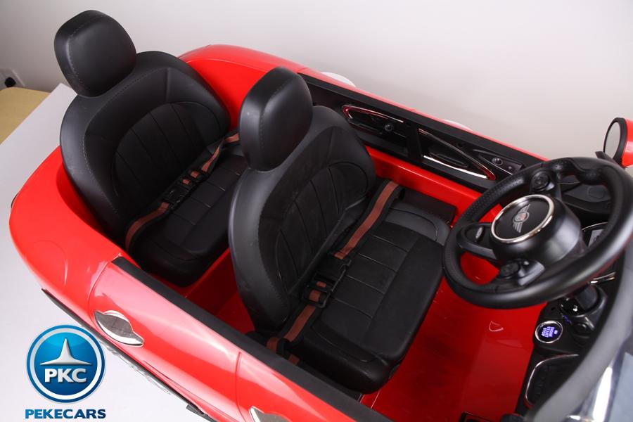 Coche electrico para niños Mini Style Rojo dos asientos