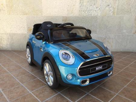 Mini Hatch infantil Azul Metalizado Pekecars