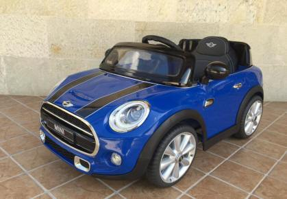 Mini Hatch Azul 12V Pekecars