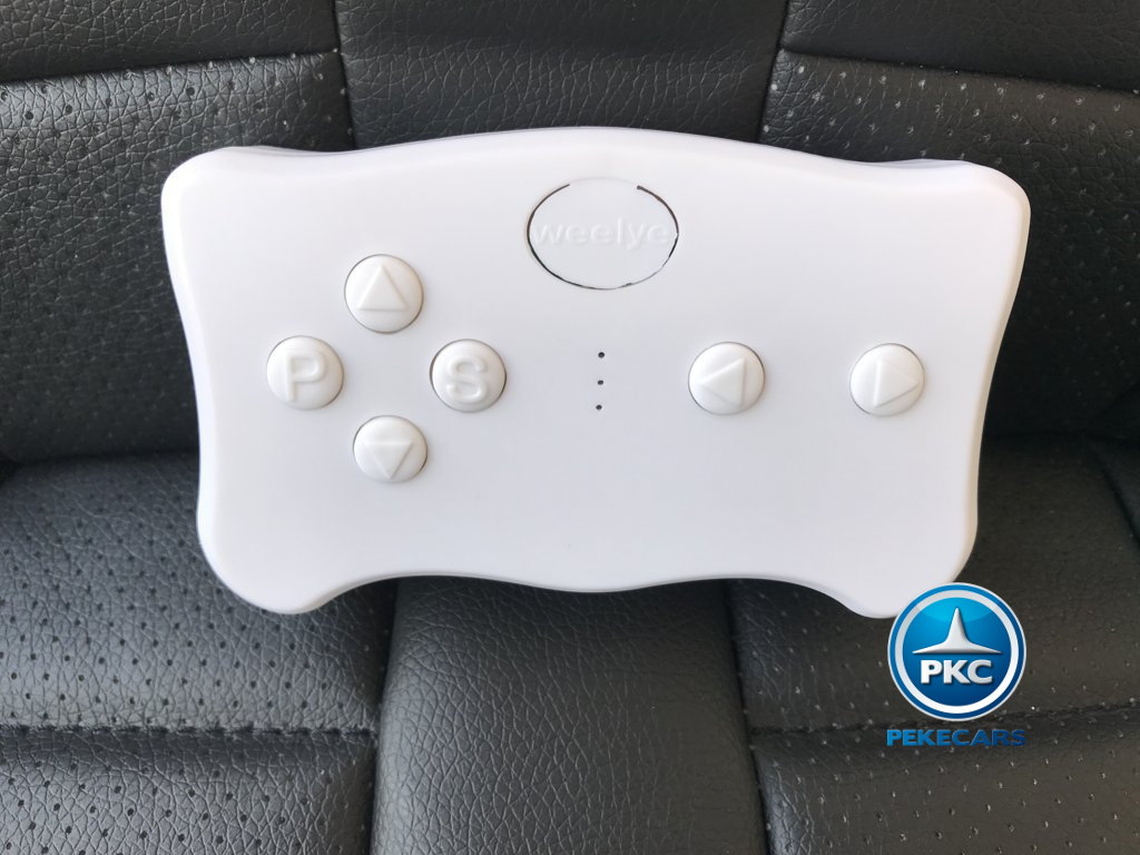 Coche electrico para niños Porsche style azul mando radiocontrol