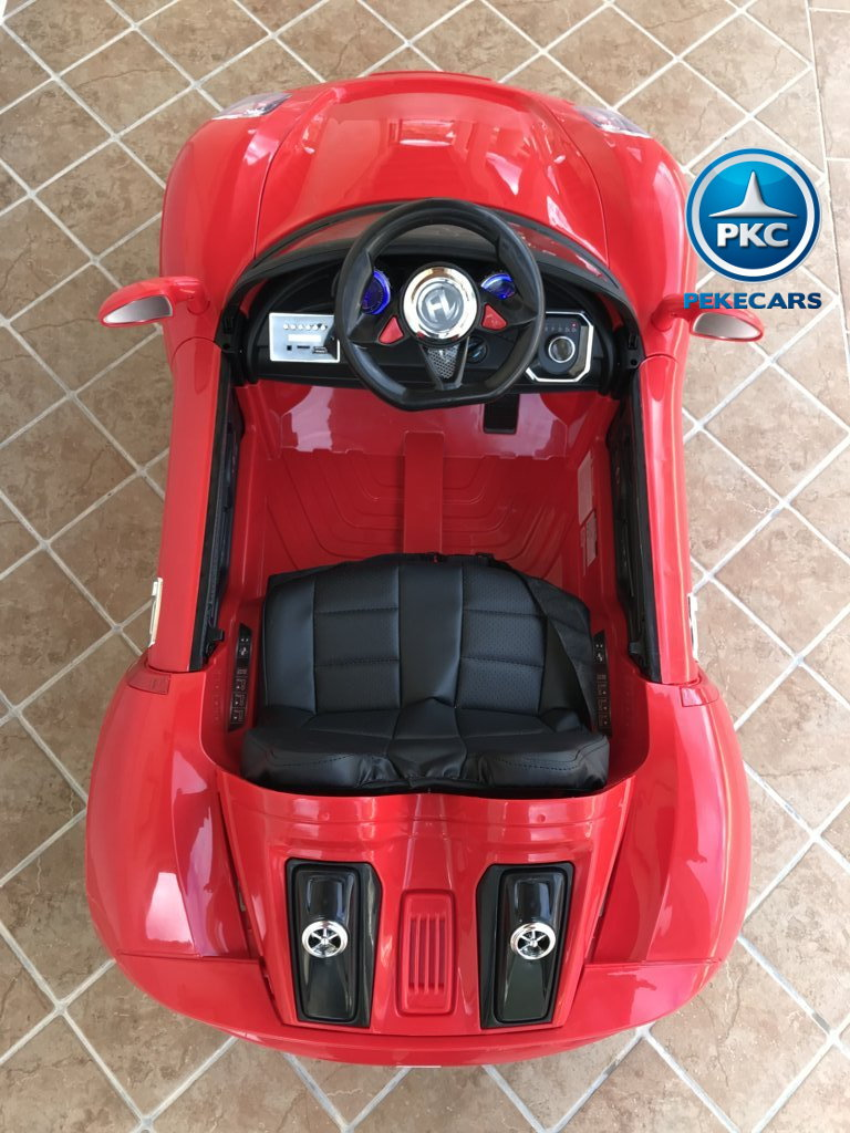 Coche electrico infantil Porsche style rojo