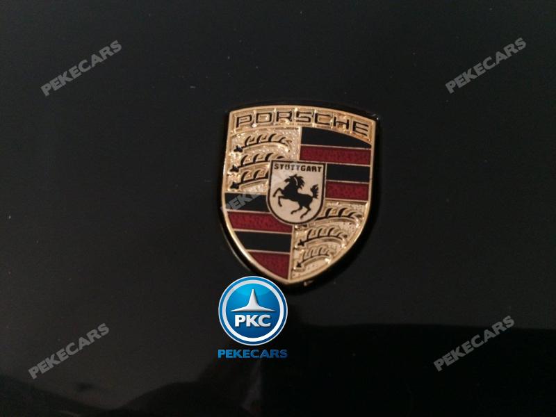 Coche electrico infantil Porsche Macan Negro licencia oficial