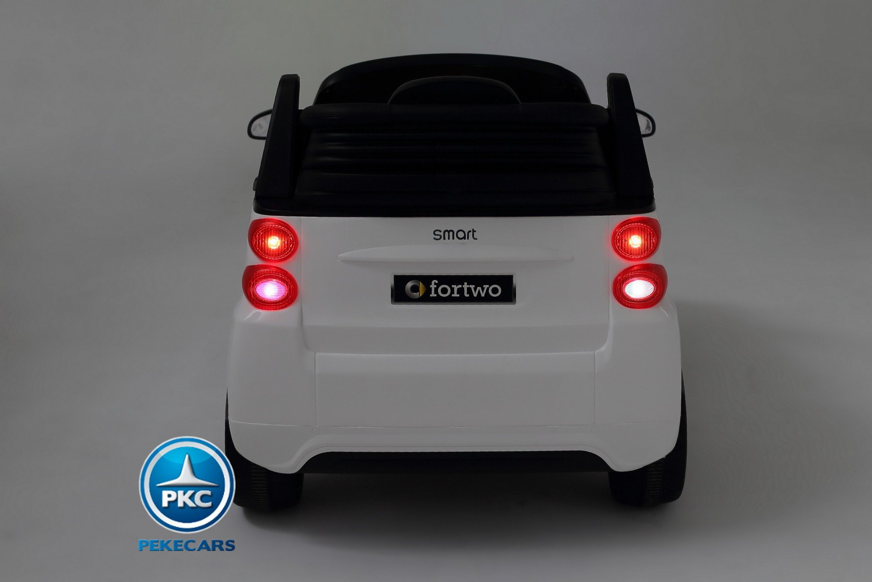 Smart ForTwo parte trasera 12V 2.4G RC Negro