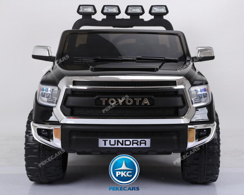 Coche electrico para niños Toyota Tundra Negro frontal