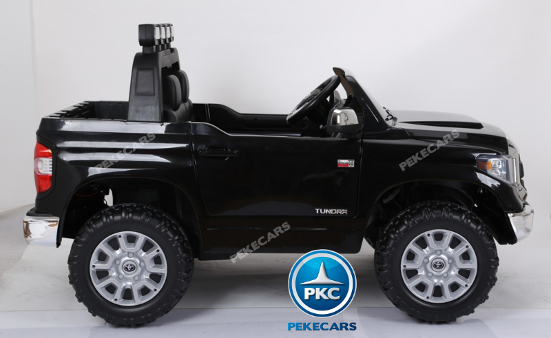 Coche electrico para niños Toyota Tundra Negro lateral