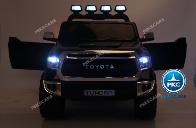 Coche electrico para niños Toyota Tundra Negro