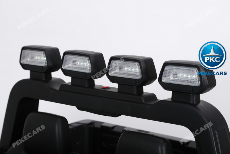Coche electrico para niños Toyota Tundra Negro barra antivuelcos