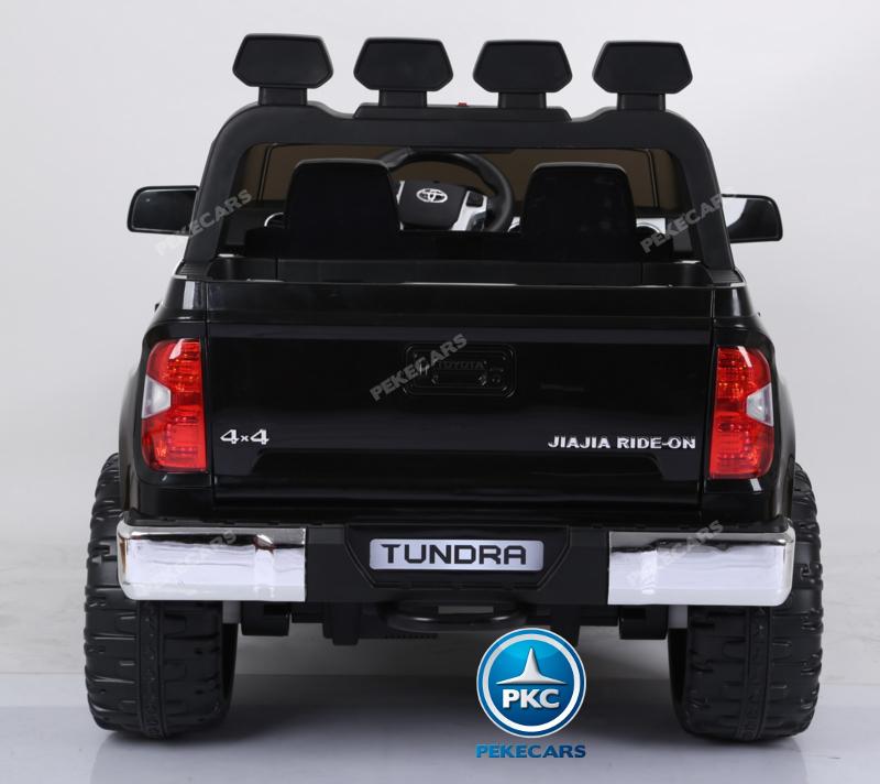 Coche electrico para niños Toyota Tundra Negro trasera