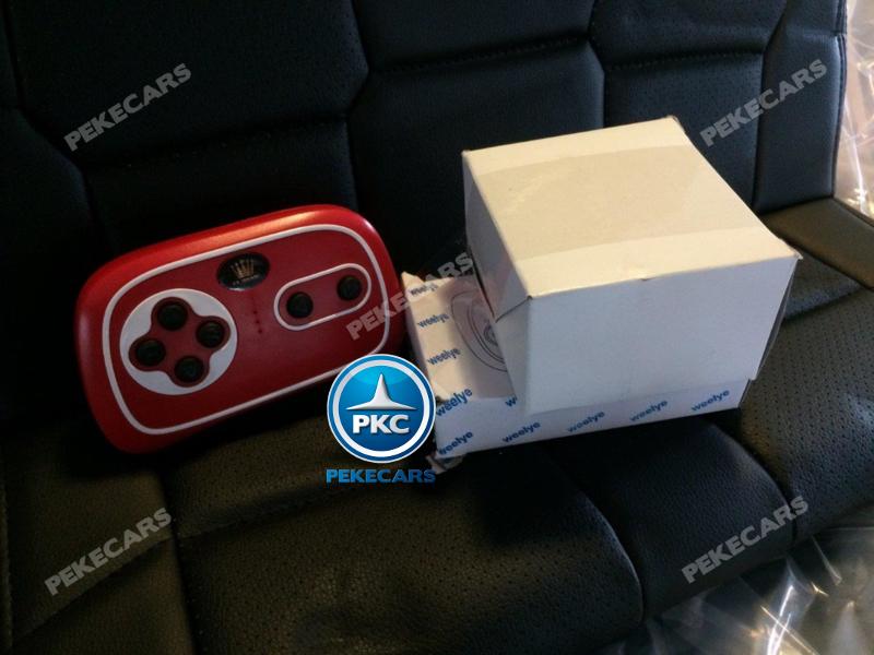 Coche electrico para niños Toyota Tundra Negro mando radiocontrol