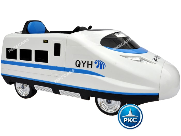 Tren electrico para niños Pekecars Blanco