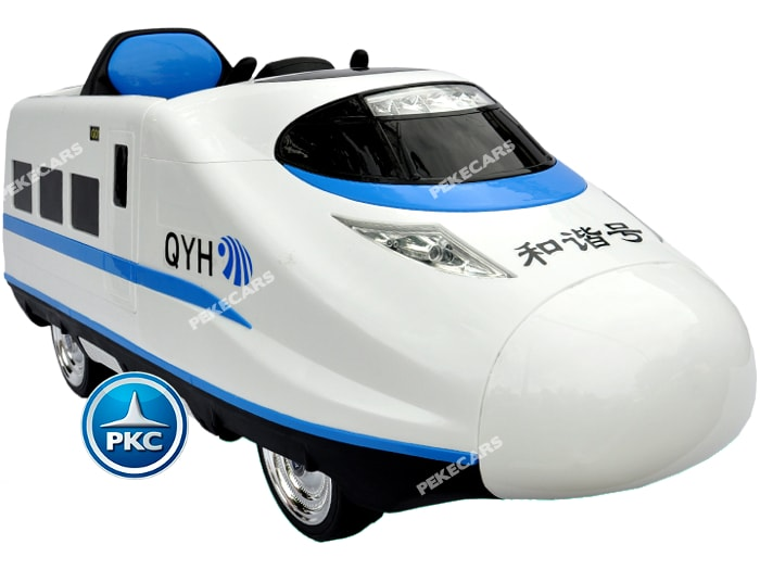 Tren electrico infantil Pekecars Blanco