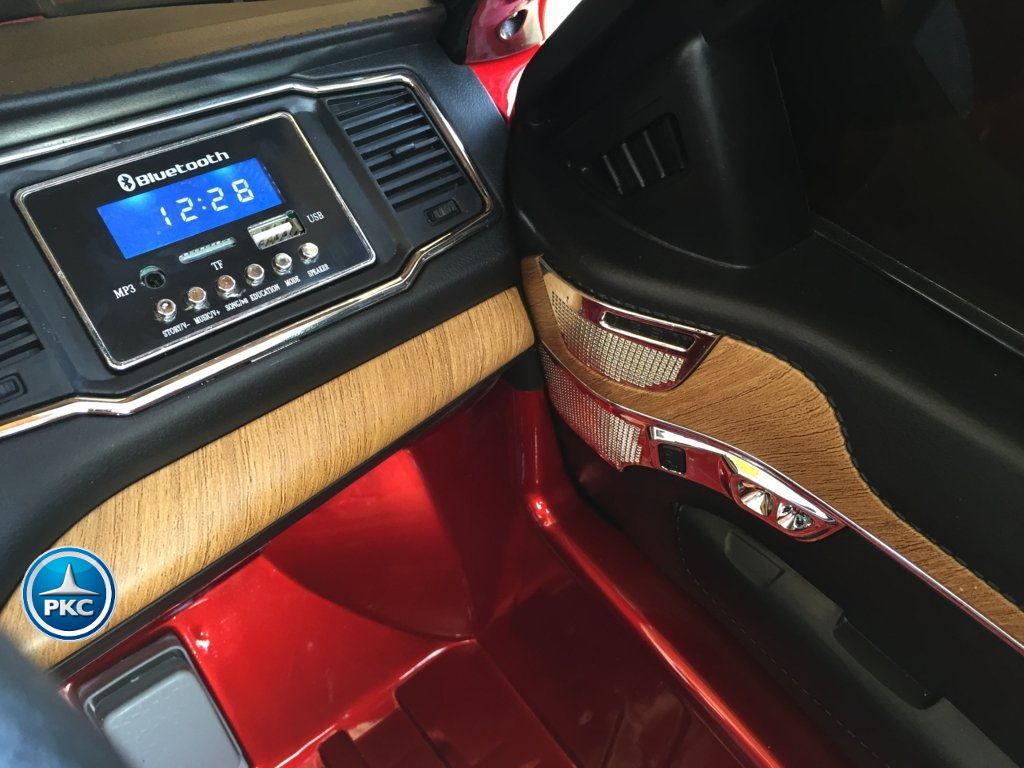 Coche electrico para niños Volvo XC90 Rojo Metalizado dashboard
