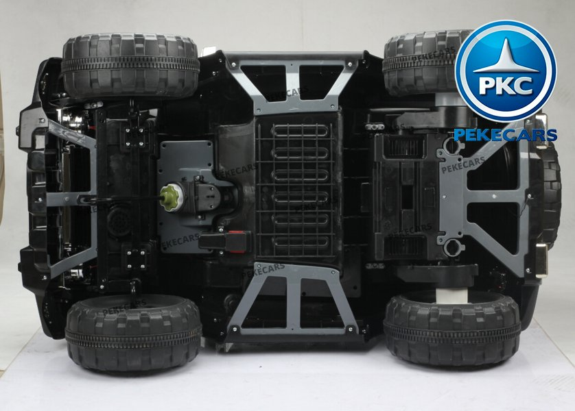 Coche electrico infantil Jeep Wrangler Style Negro bajos