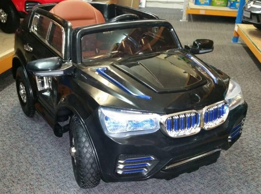 BMW X3 Style Negro 12V