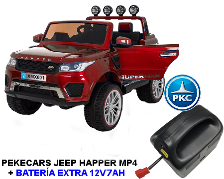 Comprar Jeep Happer Mp4 + batería