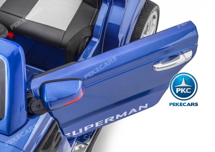 Coche electrico infantil Jeep Happer MP4 Azul Metalizado