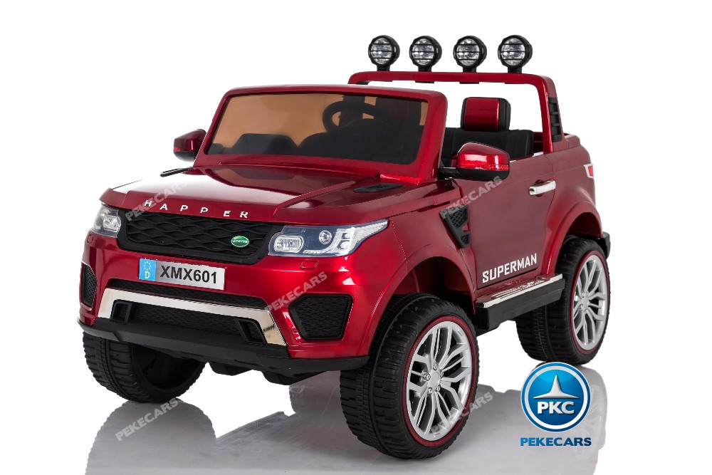 Jeep happer rojo metalizado principal