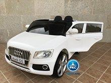 Audi Q5 para niños Blanco vista principal