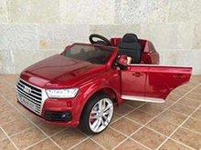 Coche electrico para niños Audi Q7 Facelift Rojo Metalizado vista principal