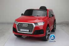 Coche electrico para niños Audi Q7 S-Line Rojovista principal