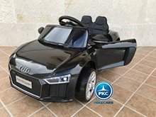 Coche electrico para niños Audi Little R8 Spyder Negro vista principal
