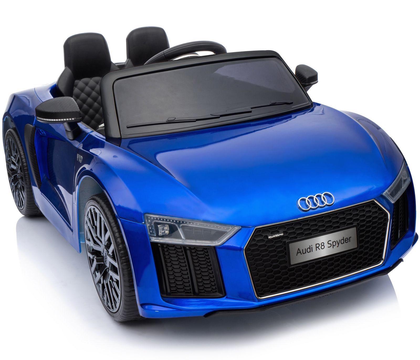 Coche electrico para niños Audi Little R8 Spyder Azul 1