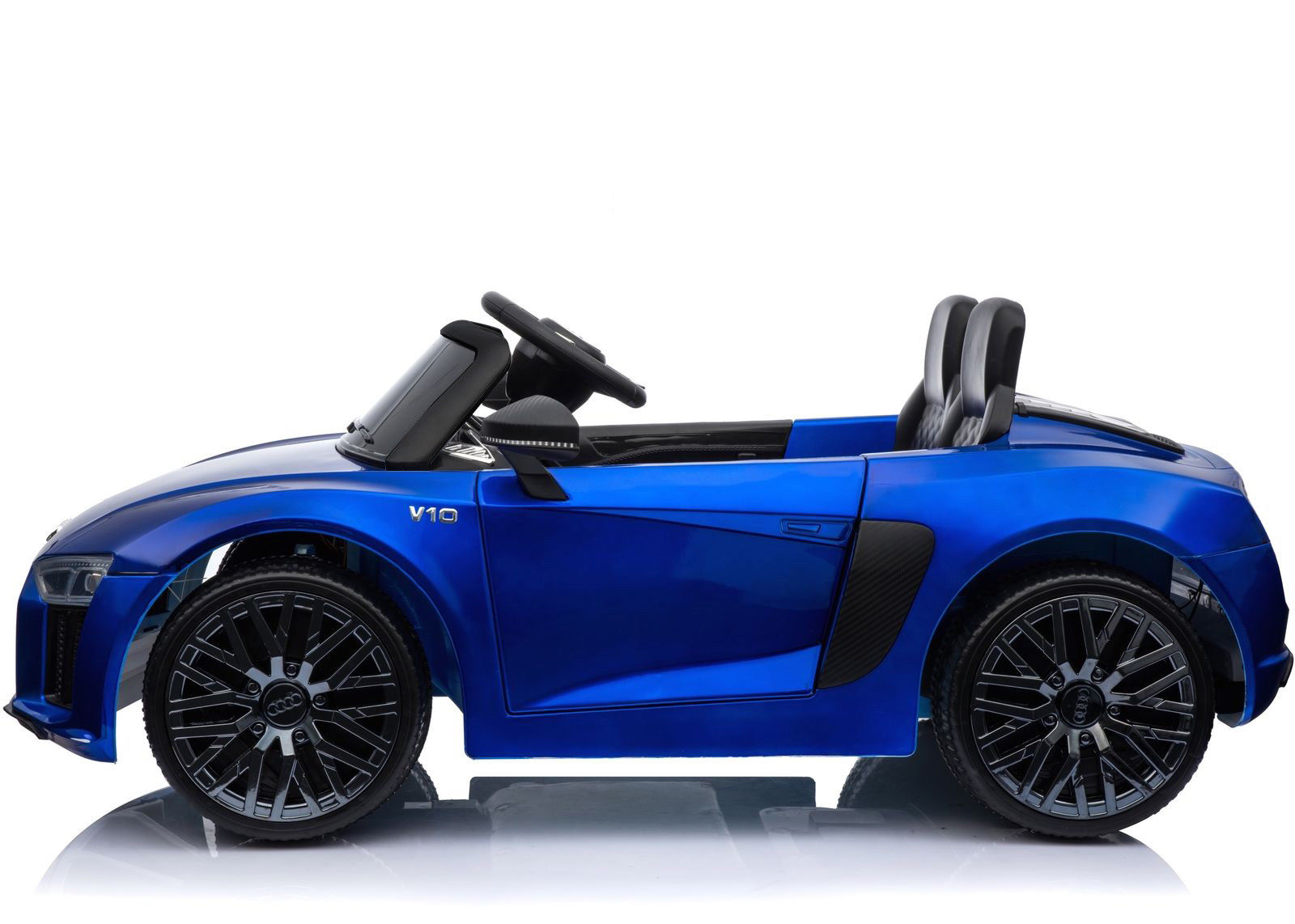 Coche electrico para niños Audi Little R8 Spyder Azul 3