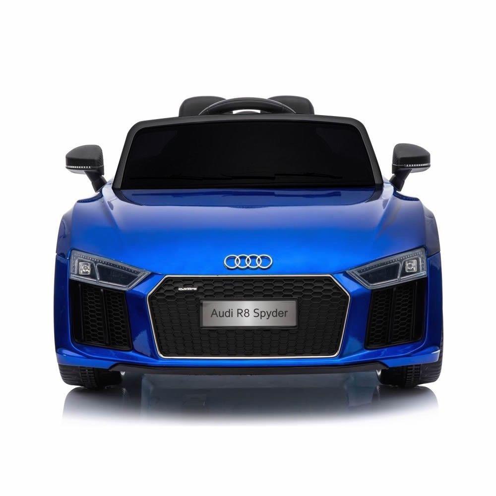 Coche electrico para niños Audi Little R8 Spyder Azul 4