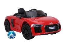 Coche electrico para niños Audi R8 Spyder Rojo vista principal