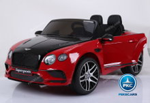 Coche electrico para niños Bentley Continental Supersports 12V Rojo Vista principal