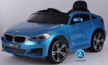 Coche electrico para niños BMW 6 GT 12V Azul  Metalizado