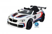 Coche electrico infantil BMW M6 GT3 Blanco