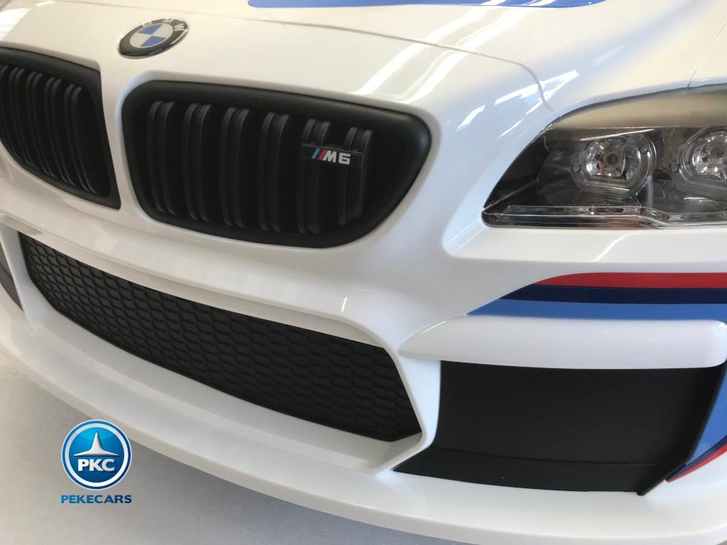 Coche electrico infantil BMW M6 GT3 Negro