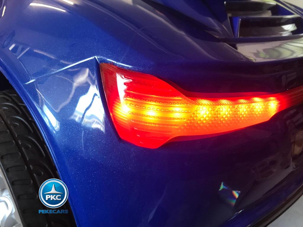 Coche electrico para niños BMW M8 Style azul