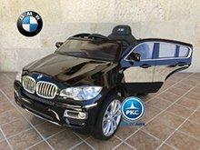 Coche electrico para niños BMW X6 Negro Metalizado vista principal