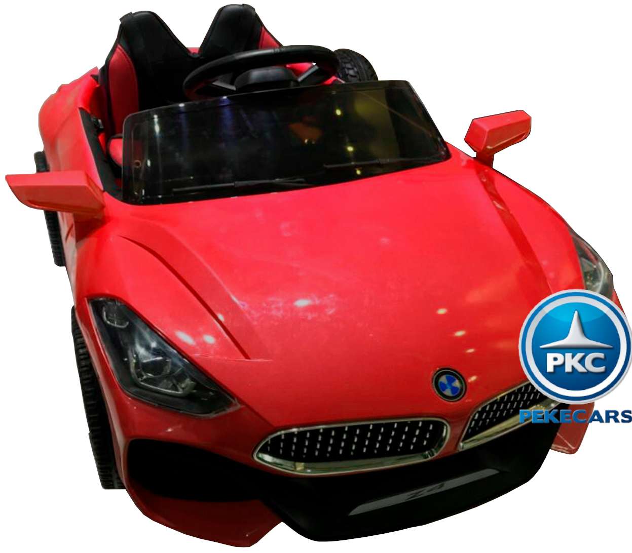BMW Z4 Style Rojo - vista superior
